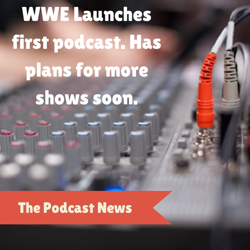 WWE starts a podcast