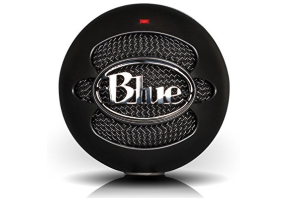Blue Snowball iCE Condenser Microphone, Cardioid – Black