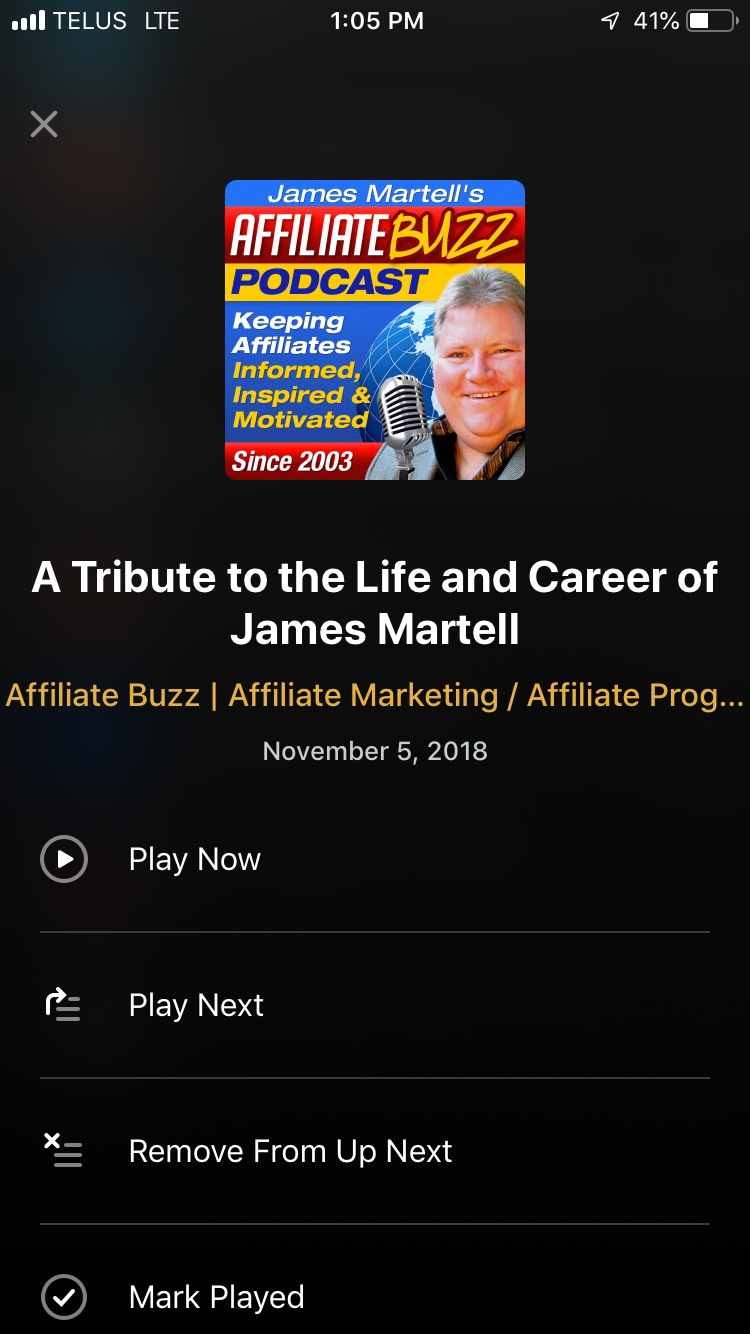 Pocket Casts 7 improves the Up Next section