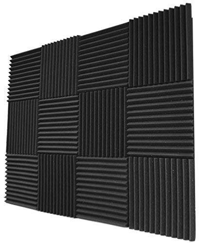 12 Pack Acoustic Panels Studio Foam Wedges 1 Quot X 12 Quot X 12 Quot