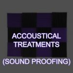 Podcast Studio Acoustical Treatments (sound proofing)
