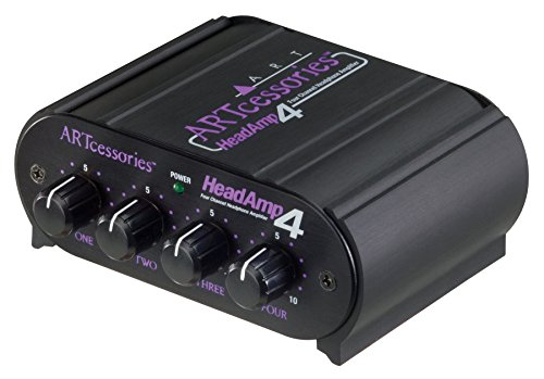 ART HeadAMP 4 Four Channel 8-Output Stereo Headphone Amp